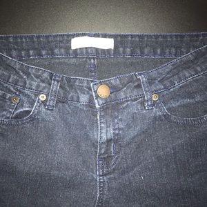 No Boundaries Dark Wash Stretch Jeans 15 EUC